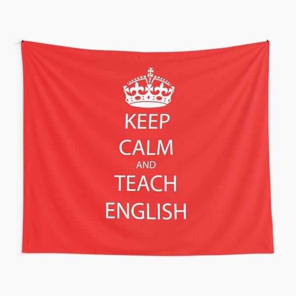Teach English Tapestries | Redbubble