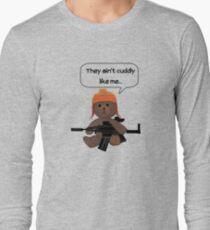 Cuddly Jayne  Long Sleeve T-Shirt