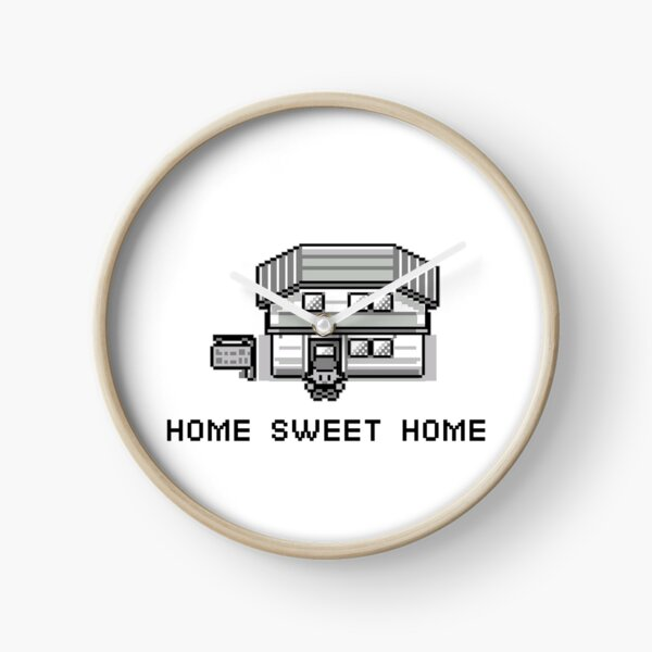 Pokemon Home Sweet Home Clock