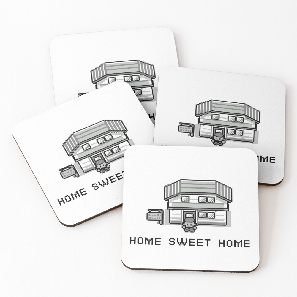 Pokemon Home Sweet Home Coasters (Set of 4)
