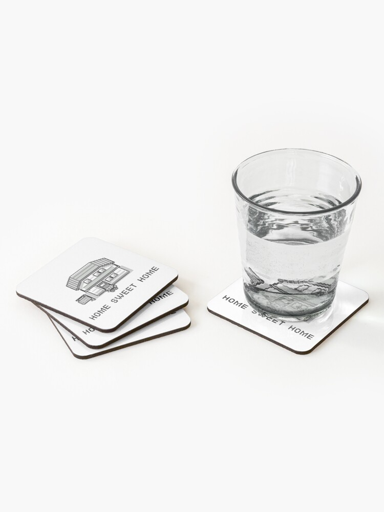 Alternate view of Pokemon Home Sweet Home Coasters (Set of 4)