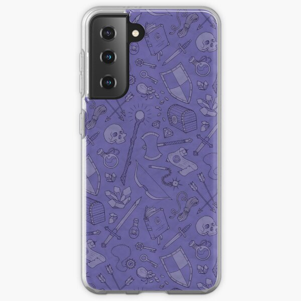Inventory in Purple Samsung Galaxy Soft Case