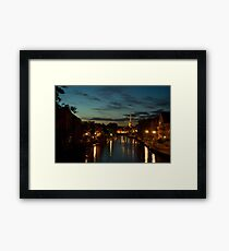 Norwich Riverside Framed Print