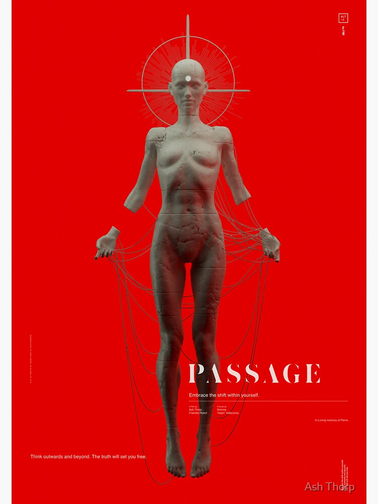 PASSAGE - The Deity by ashthorp