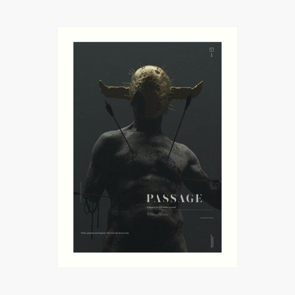 PASSAGE - The Warrior Art Print