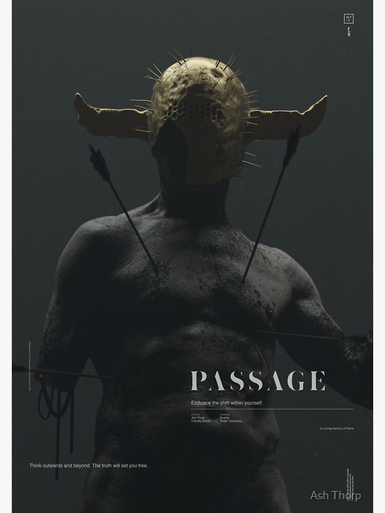 PASSAGE - The Warrior by ashthorp