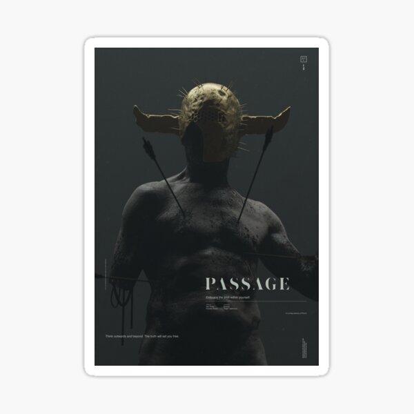 PASSAGE - The Warrior Sticker