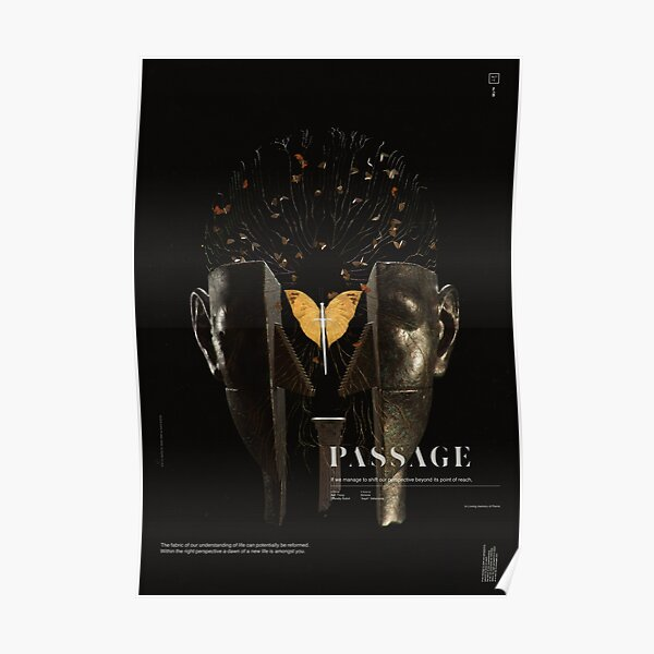PASSAGE - The Surrealist Mirror Poster