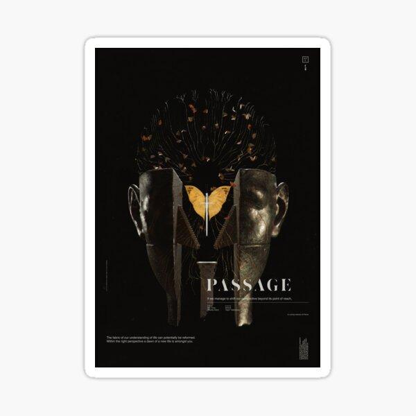 PASSAGE - The Surrealist Mirror Sticker