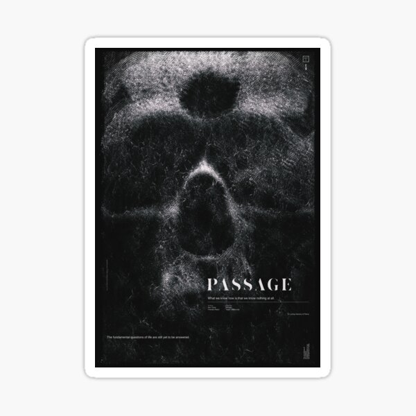 PASSAGE - The Digital Decay Sticker