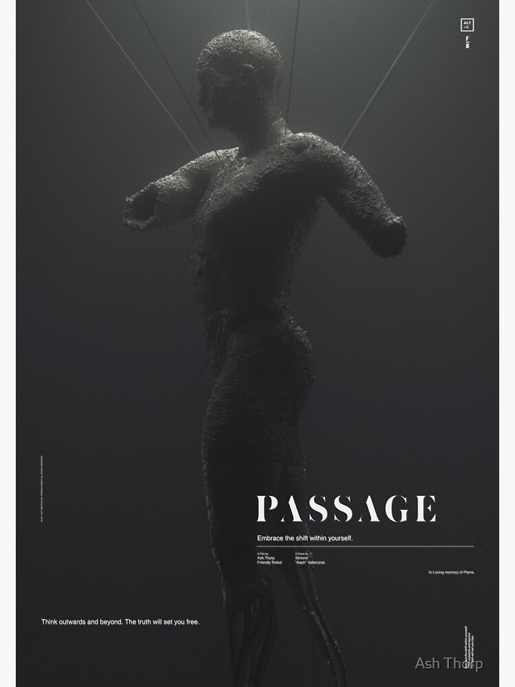 PASSAGE - In Human Form by ashthorp