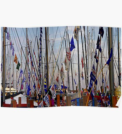 Masts & Flags Poster