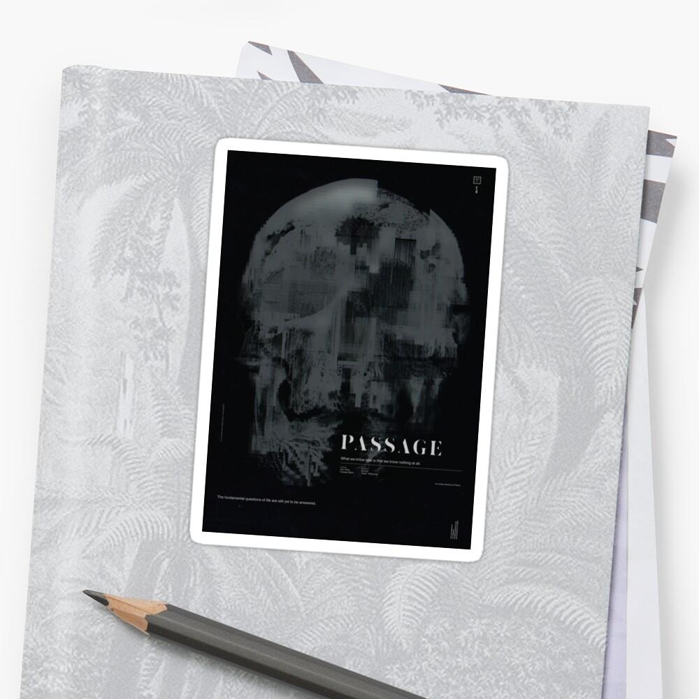 PASSAGE - The Digital Demise Sticker