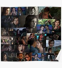 Ellie Collage Poster