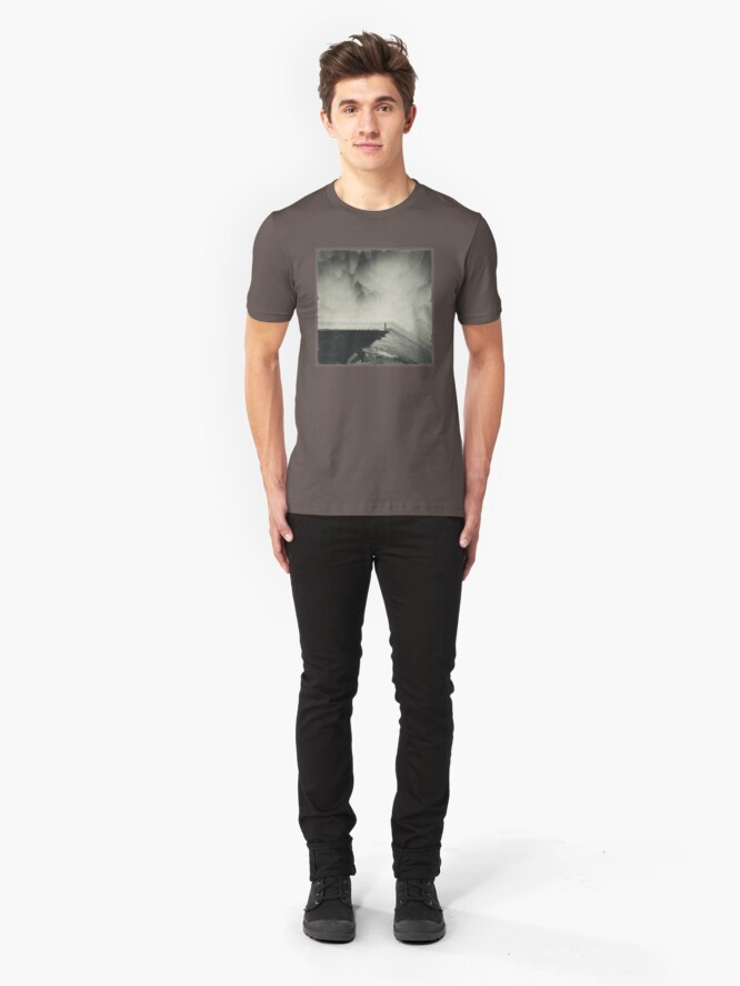 Alternate view of VertigOcean - surreal seascape Slim Fit T-Shirt