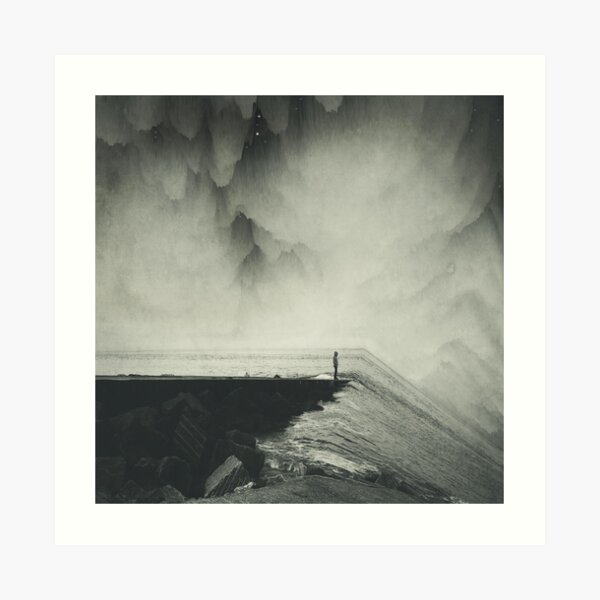 VertigOcean - surreal seascape Art Print