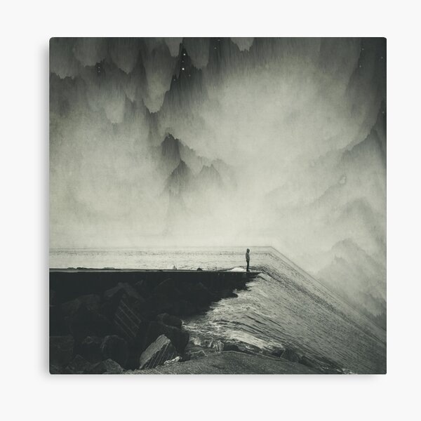VertigOcean - surreal seascape Canvas Print