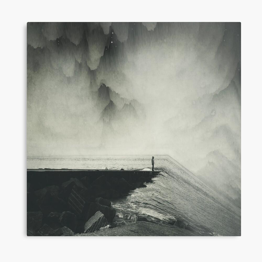 VertigOcean - surreal seascape Metal Print