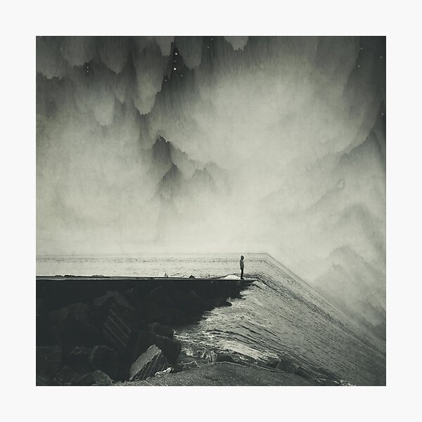 VertigOcean - surreal seascape Photographic Print
