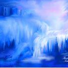 ICE FALLS                                                           acrylic by SherriOfPalmSprings Sherri Nicholas-