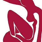 Matisse schnitt Rot der Abbildung # 1 heraus von ShaMiLaB