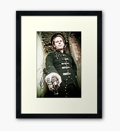 Monsieur Framed Print
