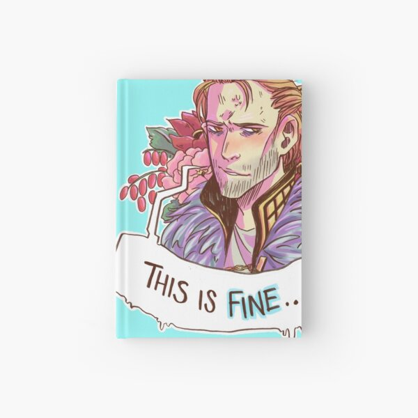 This just. Fine. Really. Hardcover Journal