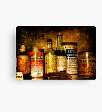 Cures Canvas Print