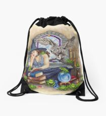 Magick Happens Drawstring Bag