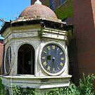 Clock Tower In Need of Repair by MaryinMaine