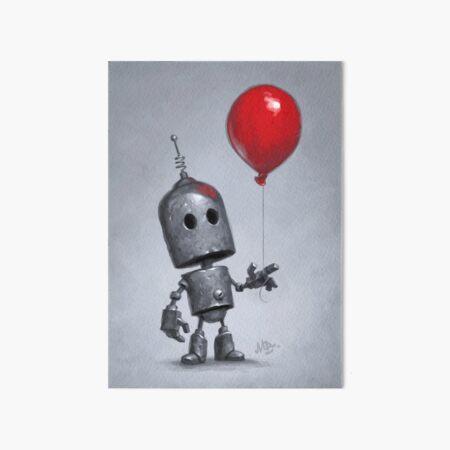 The Red Balloon Art Board Print