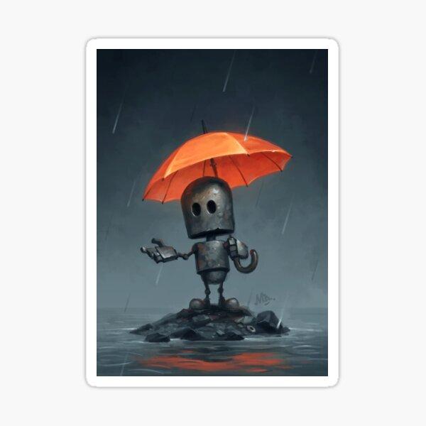 The Rainy Season Sticker