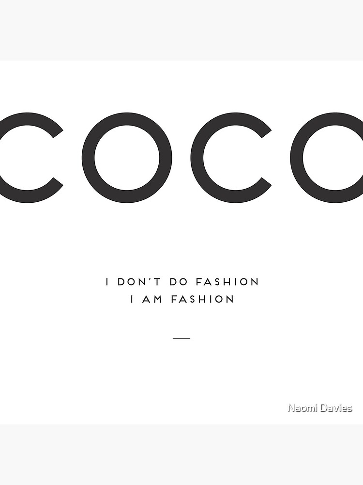 Coco Chanel by Naomillustrates