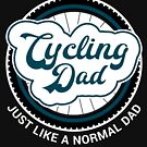 I'm a Cycling Dad Cool Birthday & Father's Day Gift Design by geeksta