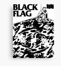 Black Flag - Six Pack Canvas Print