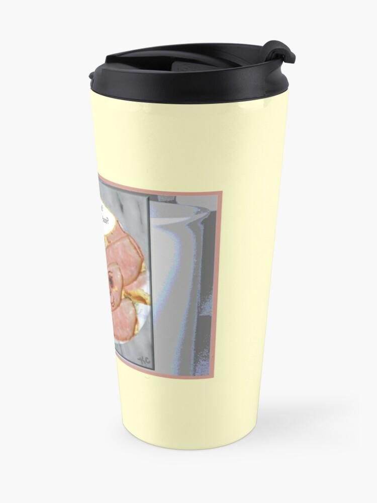 Alternate view of Egg on Face Travel Mug
