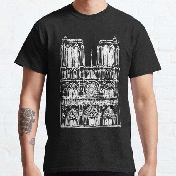 Notre Dame in light Classic T-Shirt