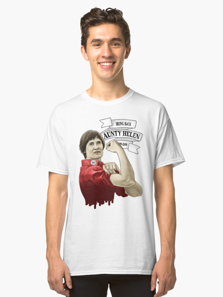 Alternate view of Bring Back Aunty Helen Classic T-Shirt