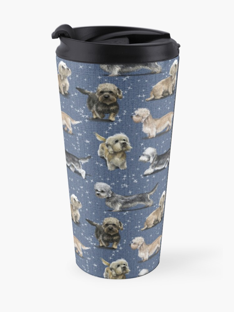 Alternate view of The Dandie Dinmont Terrier Travel Mug