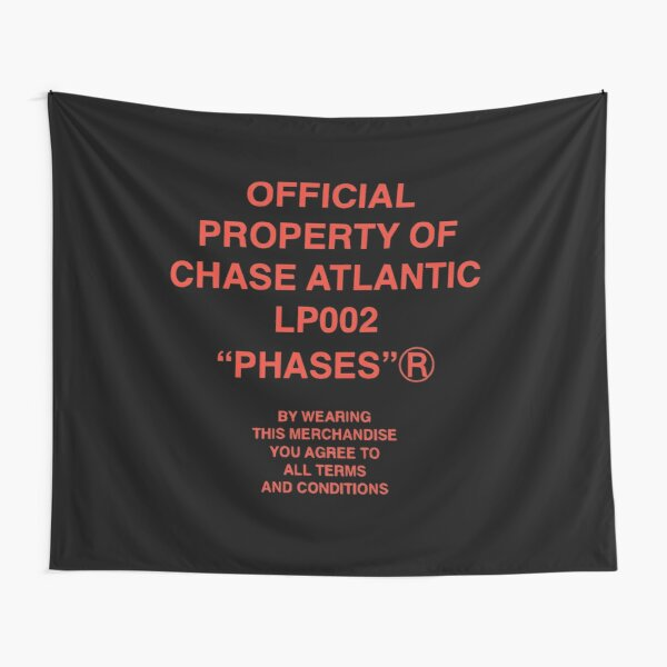 chase atlantic terms and conditions Tapestry