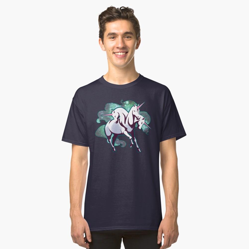 3 headed unicorn Classic T-Shirt