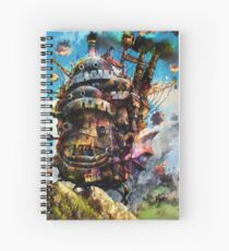 howl's moving castle Spiral Notebook