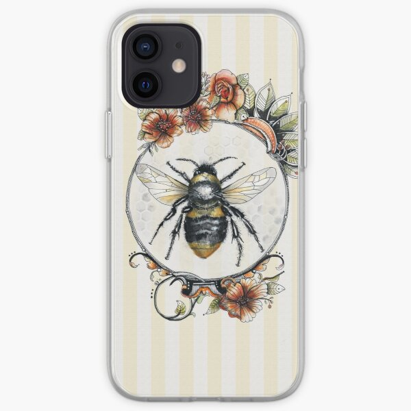 Bee a Queen iPhone Soft Case