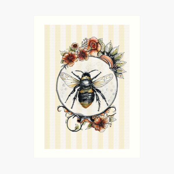Bee a Queen Art Print