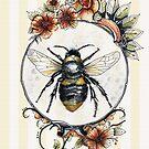 Biene eine Königin von Jenny Wood