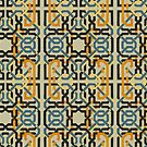 Alhambra Squares ONE by BigFatArts