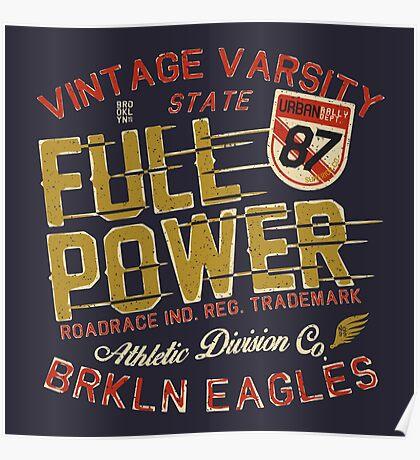 Full Power Brooklyn Eagles Poster