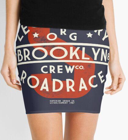 Vintage Legendary Brooklyn Road Race Mini Skirt