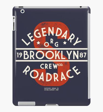 Vintage Legendary Brooklyn Road Race iPad Case/Skin