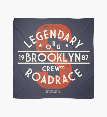 Vintage Legendary Brooklyn Road Race Scarf